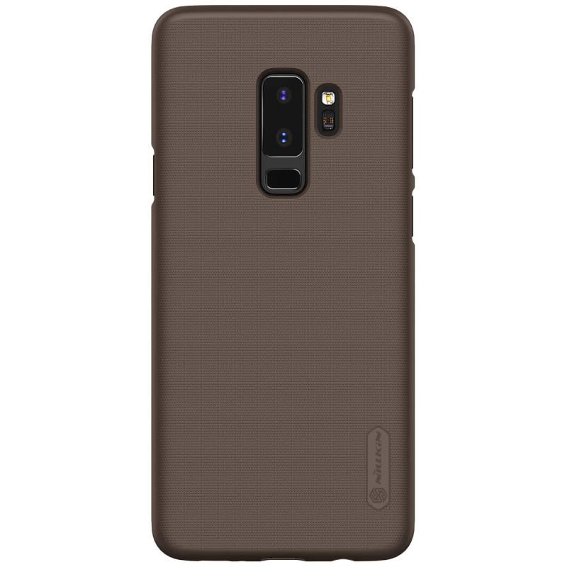 Nillkin Super Frosted Shield Matte cover case for Samsung Galaxy S9 Plus - Coklat + free screen pro
