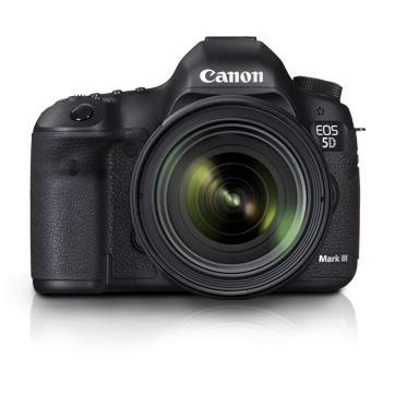 Canon Digital EOS 5D mark III with lens EF 24-70