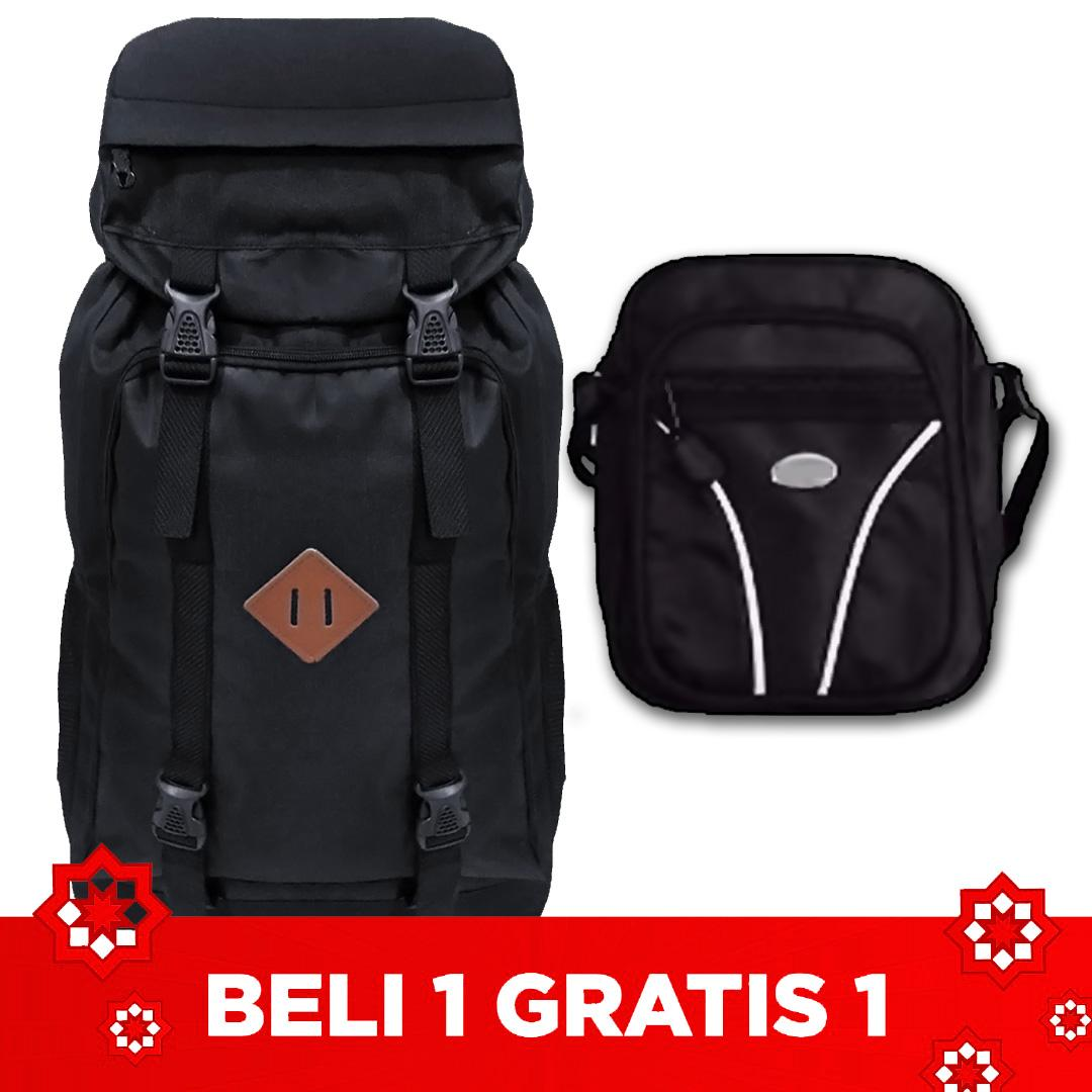 Buy Sell Cheapest 1 Oakwood Best Quality Product Deals Tas Ransel Camping Get Free Gunung 50 Liter Mini Pouch Slingbag Acak Pria Hiking