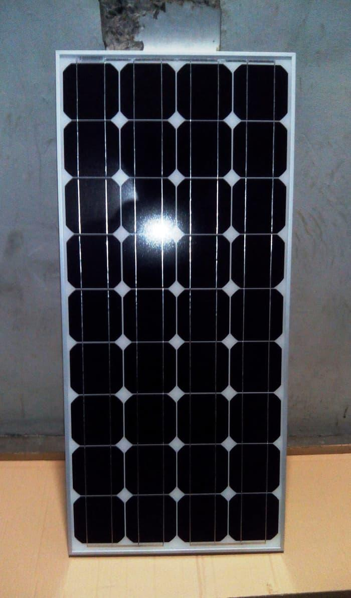 Promo  Solar Cell / Panel Surya / Mono Solar Panel 100 Wp (Watt peak) PROMO  Original
