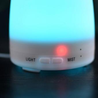 Harga preferensial Osman Cenderung Mouth Minyak Esensial Humidifier Diffuser dengan Warna-warni Lampu LED Uni Eropa Plug beli sekarang - Hanya Rp160.060