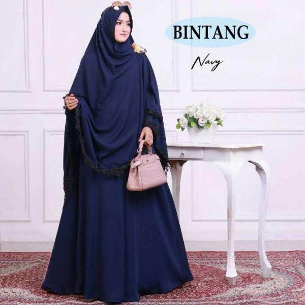 Bintang Syari - Baju Muslim Murah Terbaru 2018 Grosir Pakaian Wanita Busana  Pesta Modern Gamis Syari 9942f71598