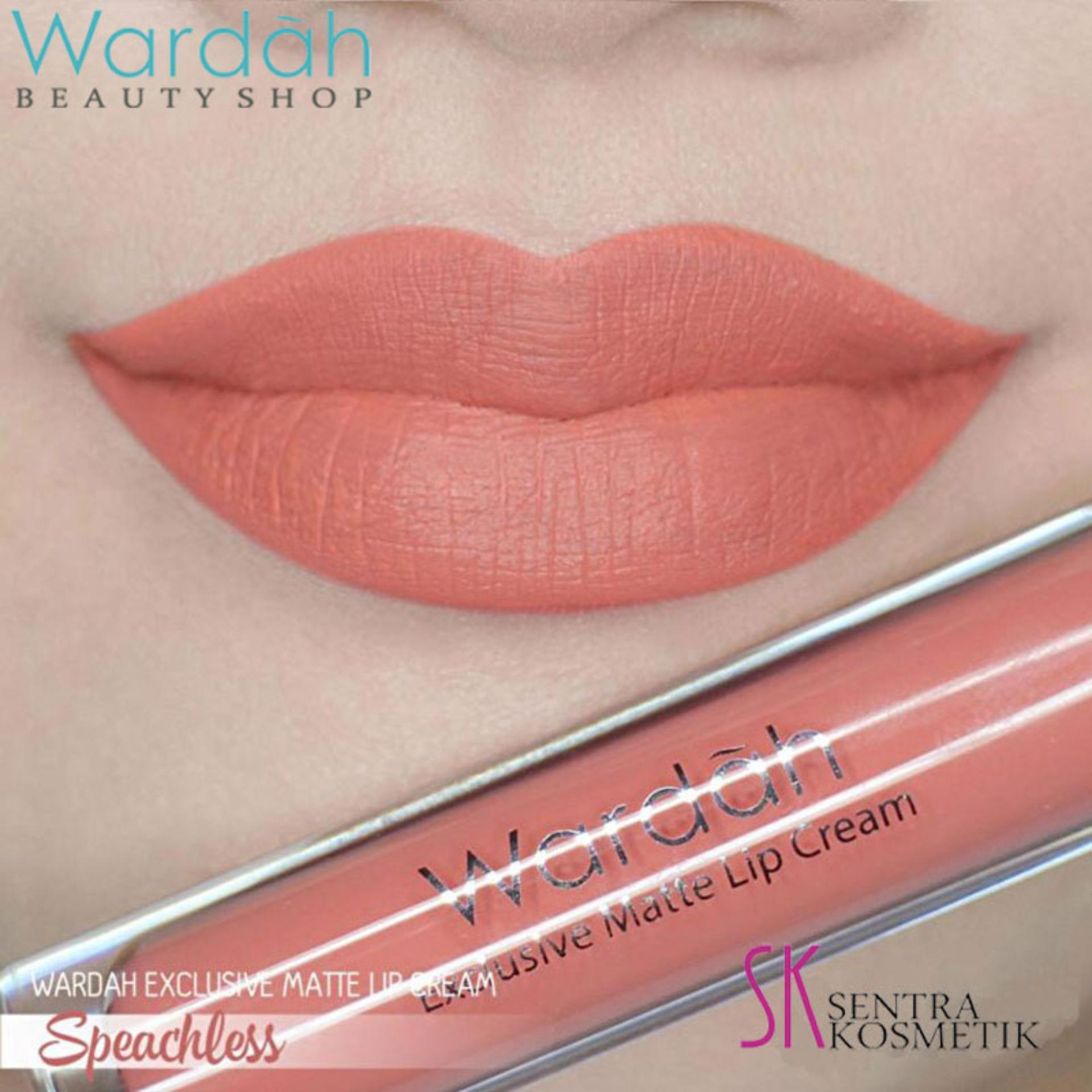 Wardah Exclusive Matte LIP CREAM 05 - Speechless