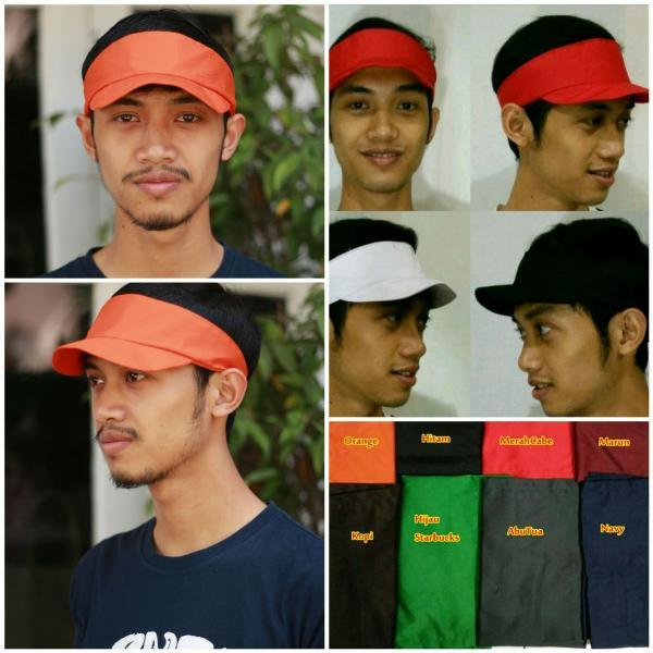 Topi Chef atau Waiters Model Caddy.