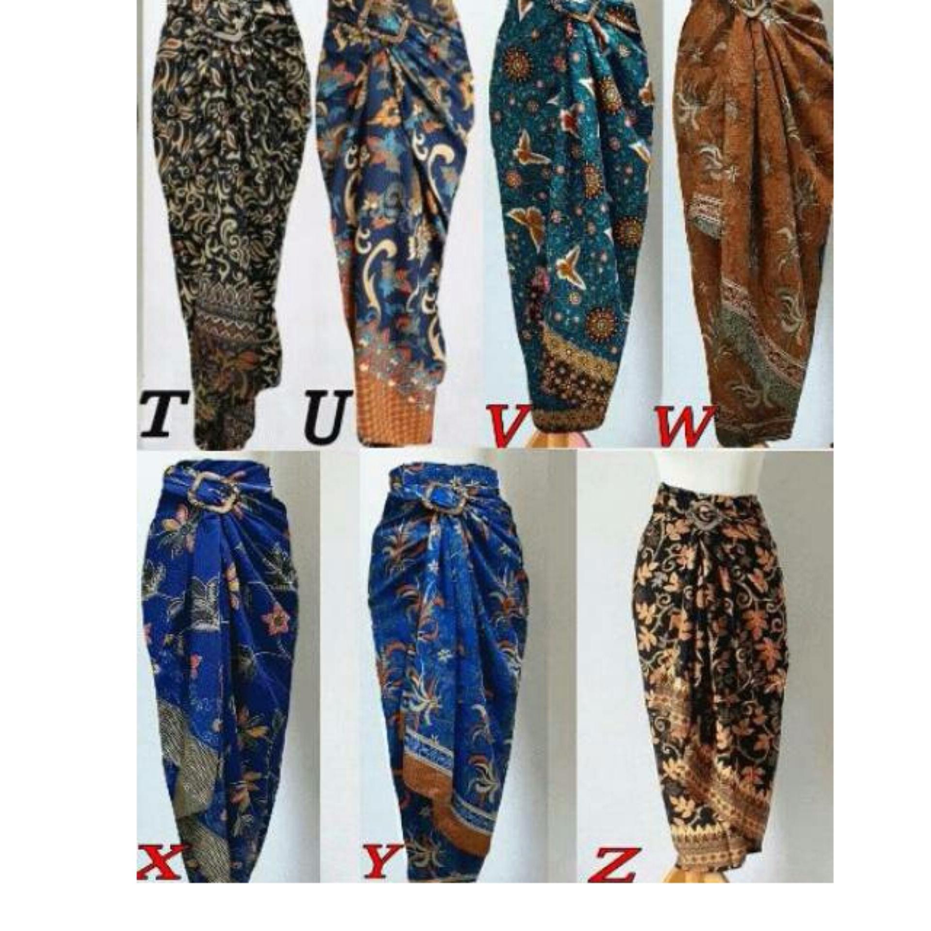 Raggunan Store – Rok Batik Lilit / Wrapped A Line / Long Skirt fit / Rok