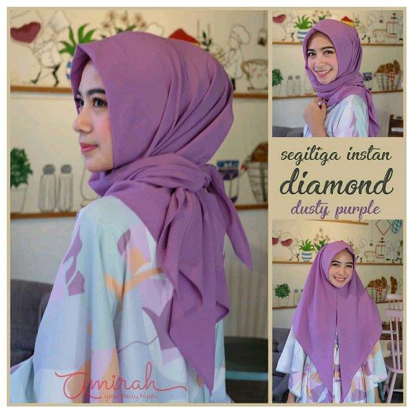 Jilbab / Hijab Segitiga Instan DIAMOND