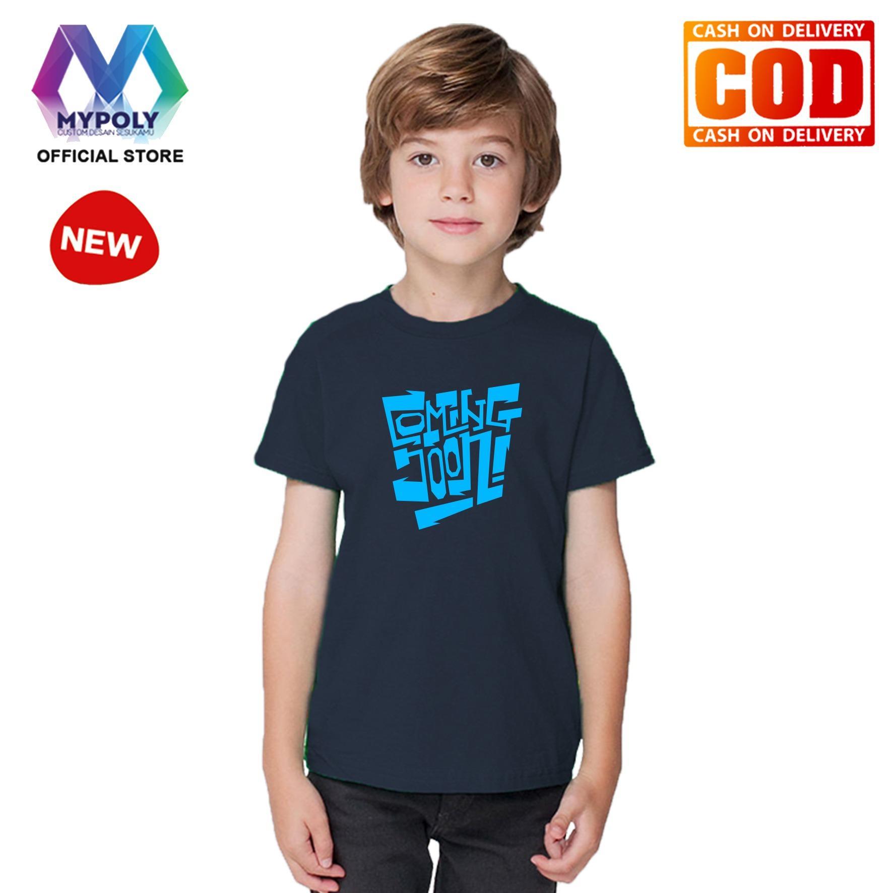 Kaos Premium Mypoly Anak Pria laki-laki AP / Baju Couple Family Keluarga / Tshirt distro / Fashion atasan / Kaos Anime / Kaos Animasi / Kaos Super Hero / Kaos Kartun / Kaos Cartoon / Kaos Lucu / Kaos Gambar Karakter / Kaos Anak Coming Soon