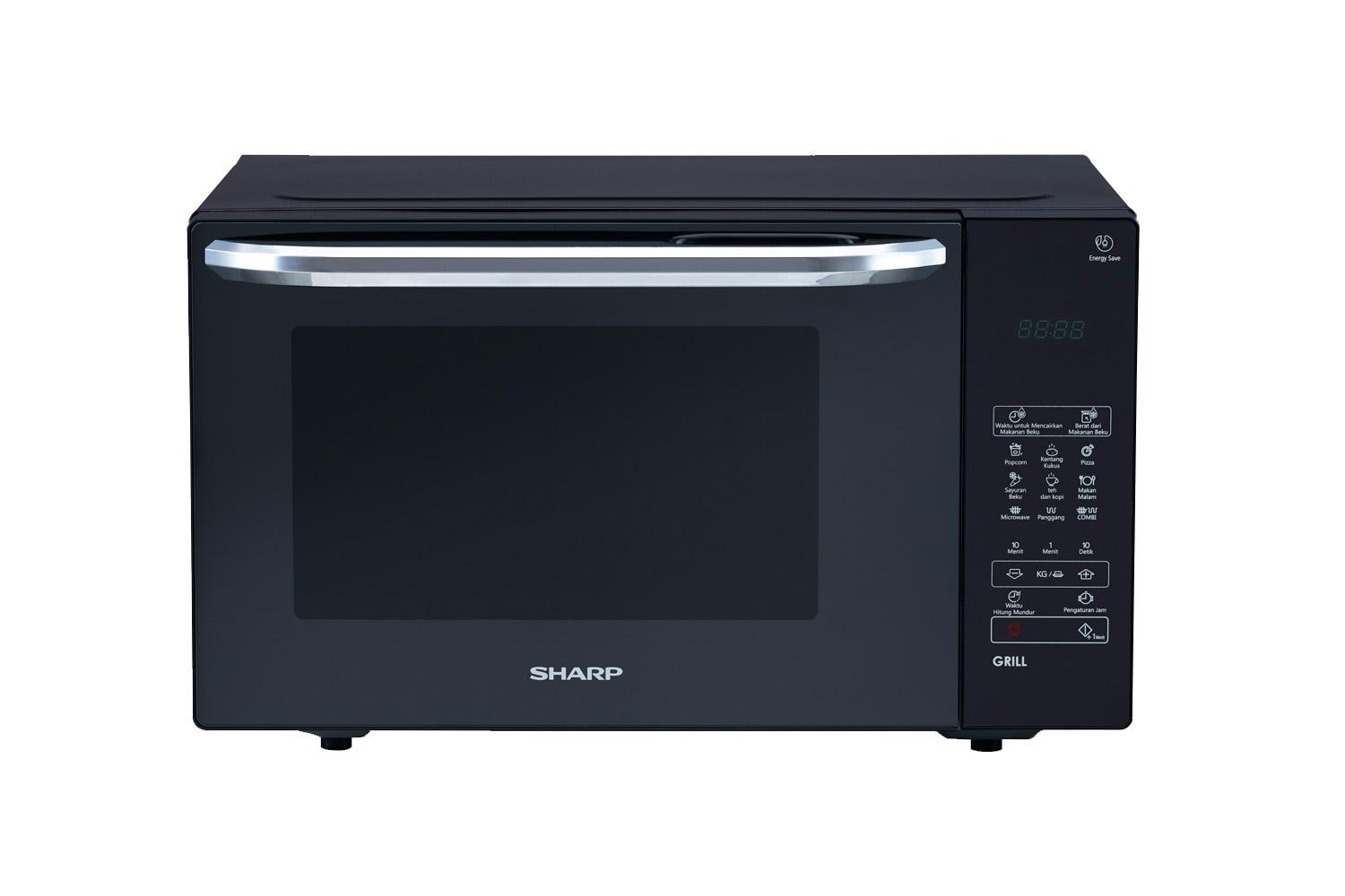 SHARP MICROWAVE GRILL R-735MT(K) FREE LUNCH BOX