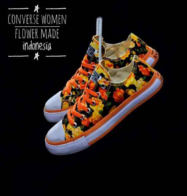 Sepatu Murah Converse Flower Original Indo Sepatu Wanita