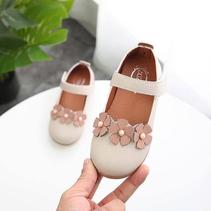Sepatu Kulit Modis Baru Sepatu Putri Pijakan Empuk