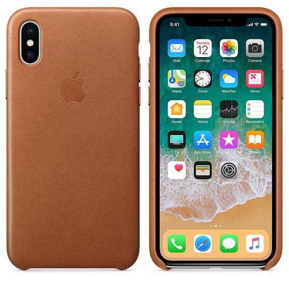 Apple Leather Case iPhone X