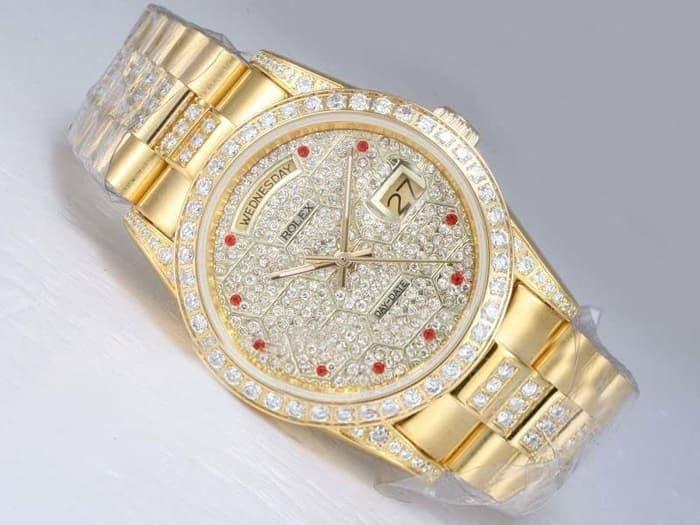 Jam Tangan Wanita Kw Super Premium Grade | Rolex Cewek Model Terbaru