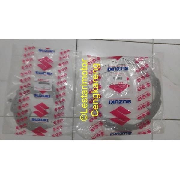 Piringan/Disk Satria FU Depan Belakang Special Edition(Gerigi) Cocok U
