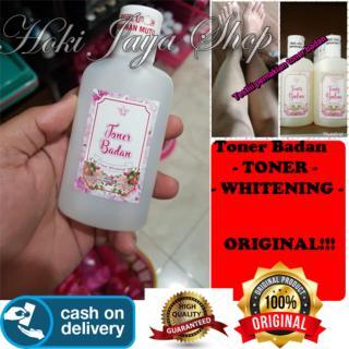 HOKI COD - TONER BADAN WHITENING - TONER PEMUTIH BADAN - Original 100% Cream hn jelly glowing pink thumbnail