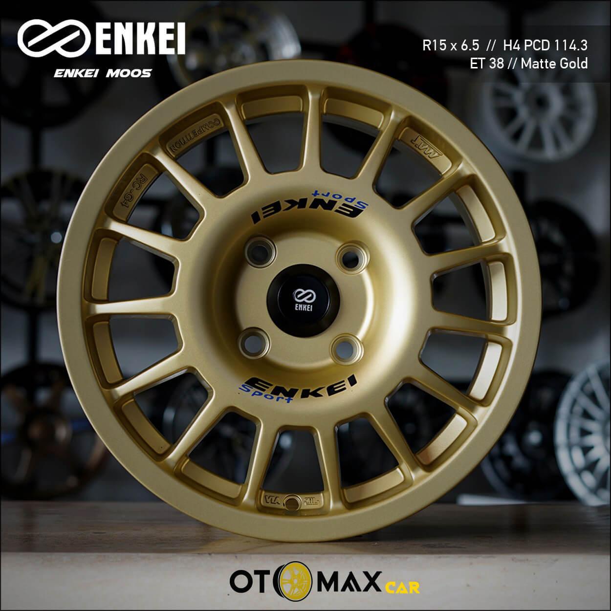 Velg Mobil Enkei M005 Ring 15 Matt Gold