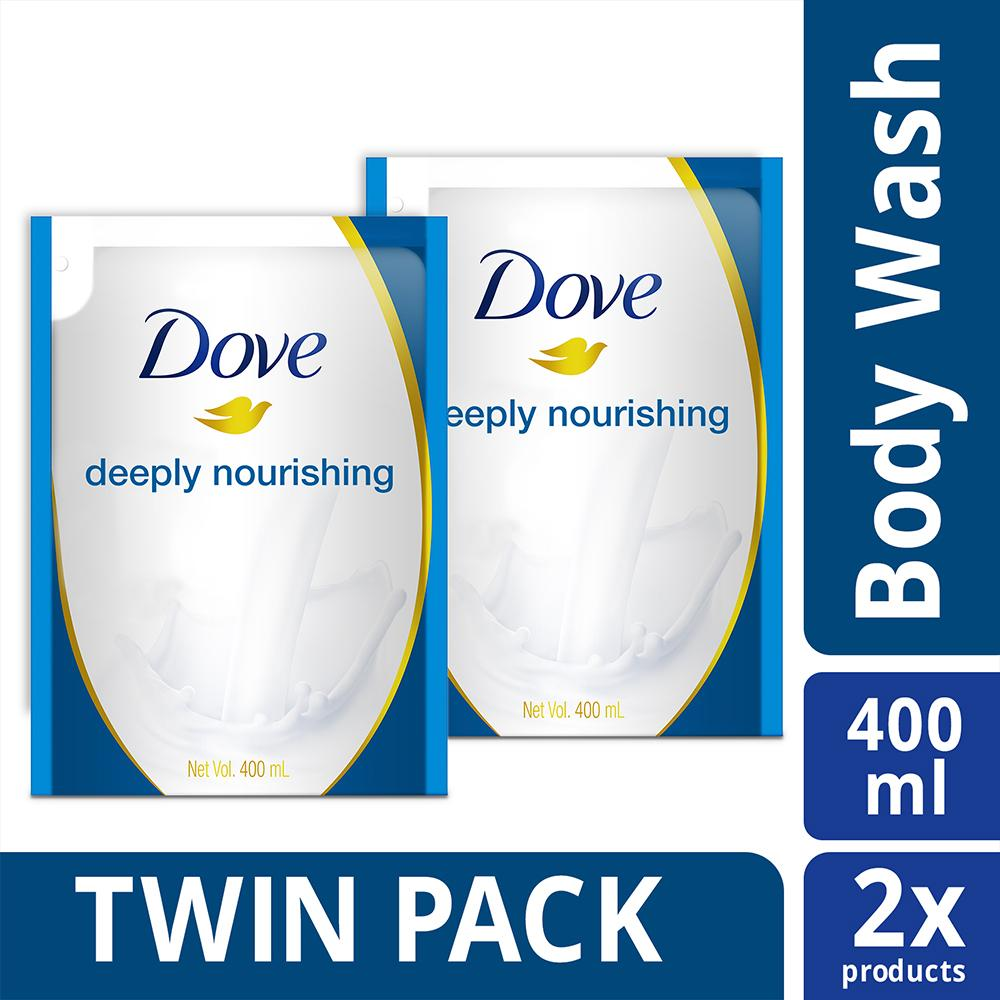 Buy Sell Cheapest Dove Body Wash Best Quality Product Deals Aqua Moisture Refill 400 Ml Deeply Nourishing 400ml Twin Pack
