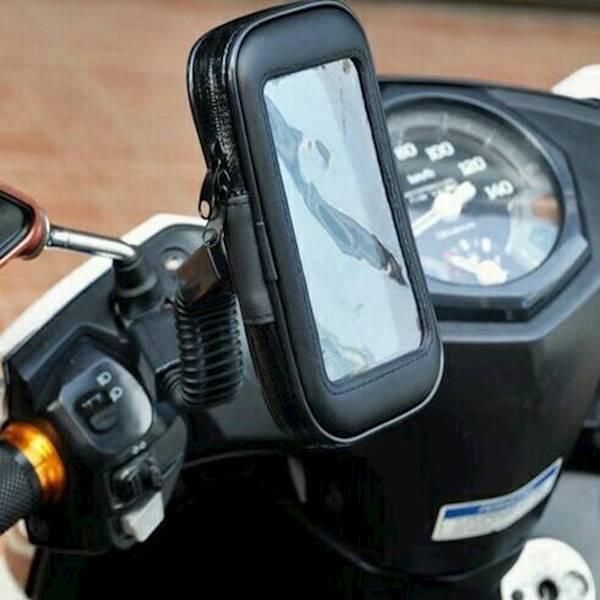 STONIC Holder Hp Di Spion Motor Anti Air / Stand Holder Waterproof