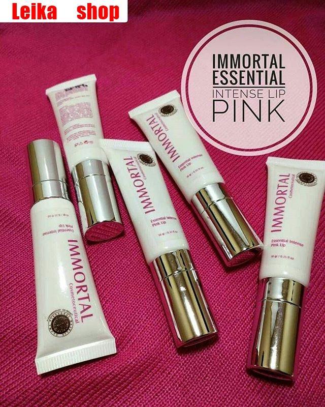 TERLARIS Pemerah Bibir Immortal Essential Intense Pink Lip ASLI BPOM - Immortal Essential Intense P