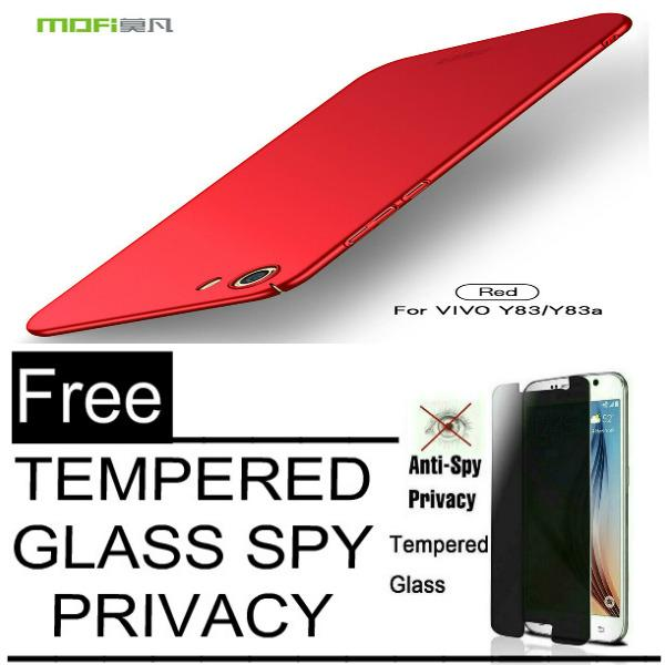Hardcase Case For Vivo Y83 Baby Skin Slim + Free ANTI SPY Tempered Glass Premium Screen