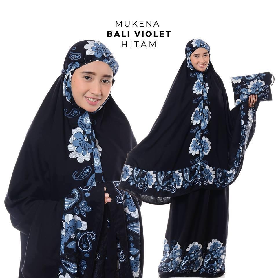 Mukena Bali Violet