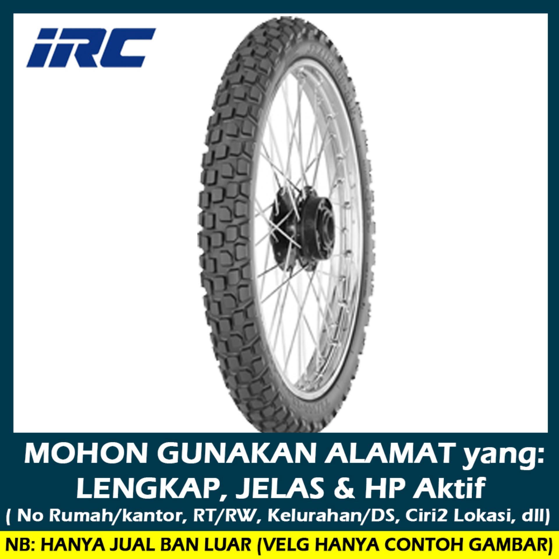 IRC Trials GP 21 F Ukuran 2.75-21 Ban Motor Trail Tubetype