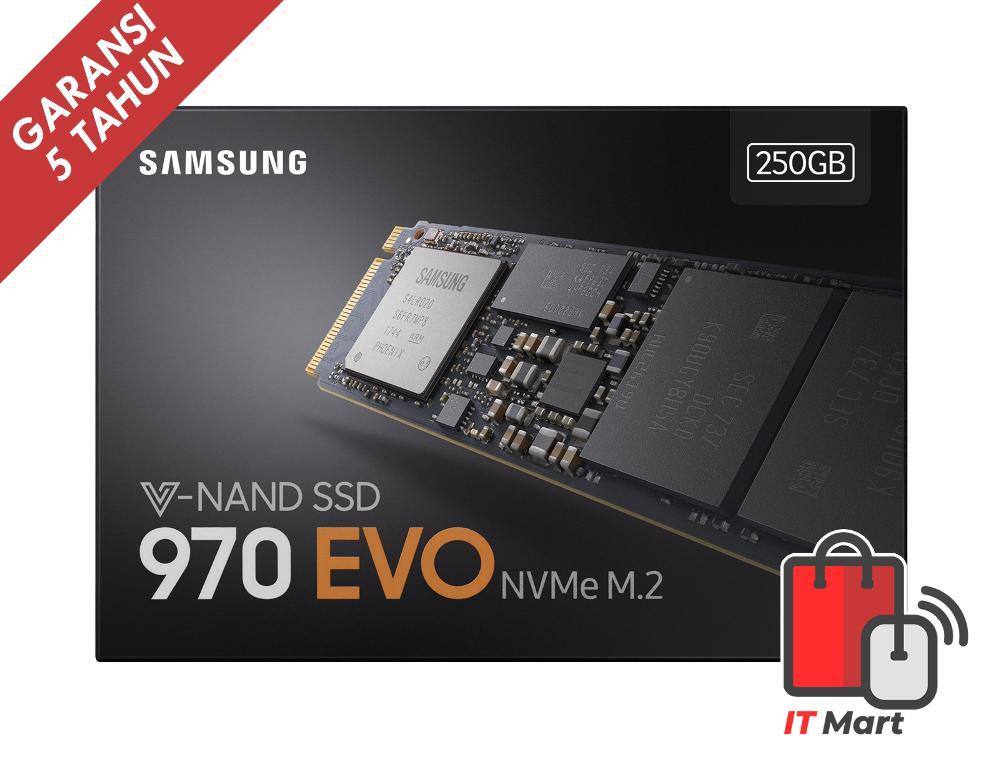 Samsung SSD 970 EVO 250GB MZ-V7E250BW