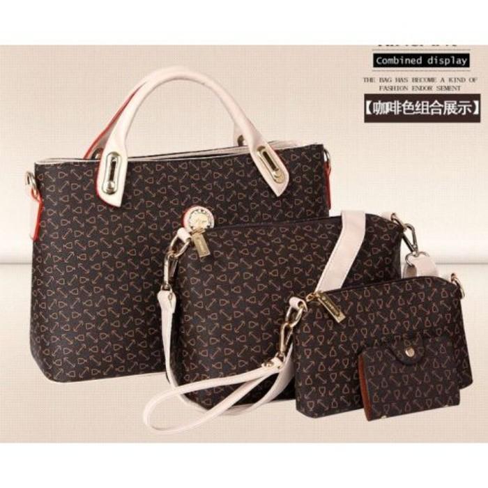 Jual Tas Wanita Import Fashion Bag Handbag Selempang Dompet Pouch H4035 Murah!