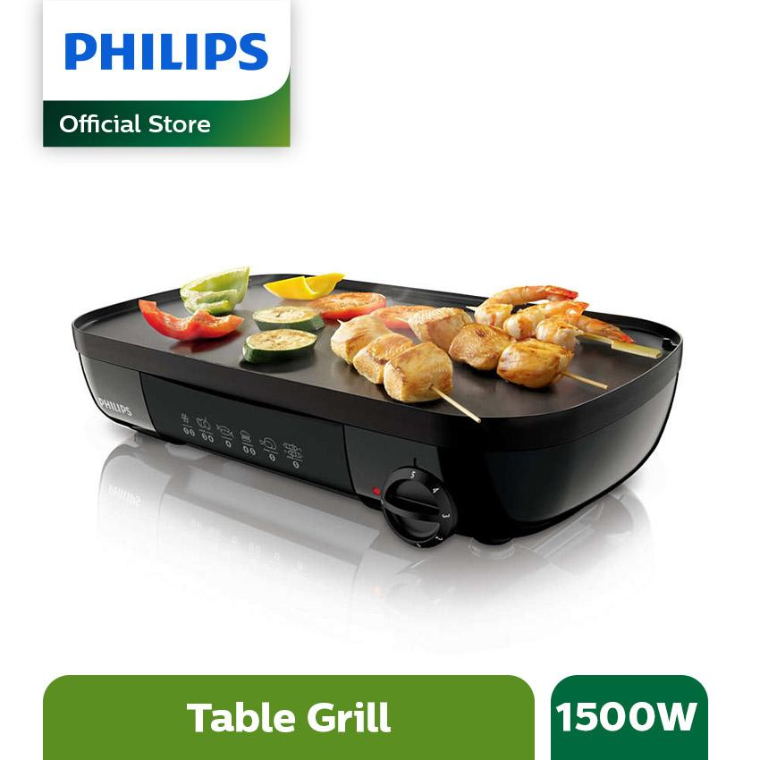 Philips Daily Collection Table Grill HD6320/20 1500W - Hitam