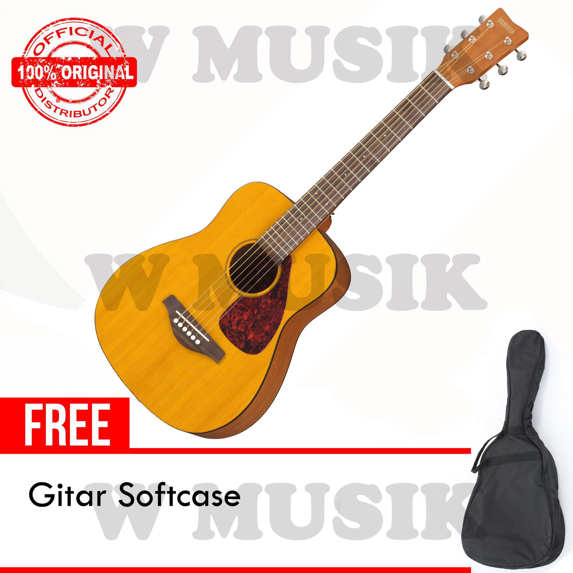 Yamaha Gitar Akustik (3/4) FG Junior JR-1 / JR1 / JR 1 - Natural + Gratis Softcase