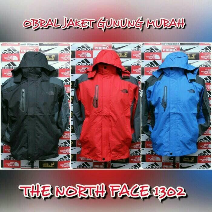 jaket gunung the north face 1302 1309 1301 1308 TNF REI CONSINA EIGER