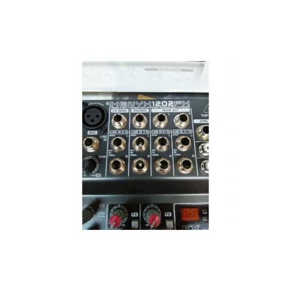 PROMO TERMURAH Dijual PAKET MIXER BEHRINGER XENYX 1202FX SIAP ON AIR UTK RADIO KOMUNIKASI Diskon