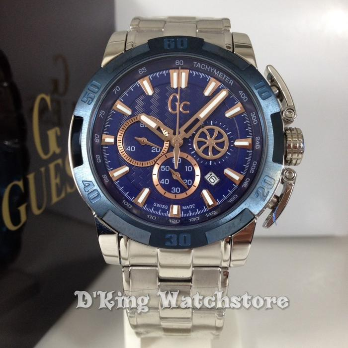 Jam TANGAN PRIA GC GUESS COLLECTION COWOK SUPER PREMIUM AAA