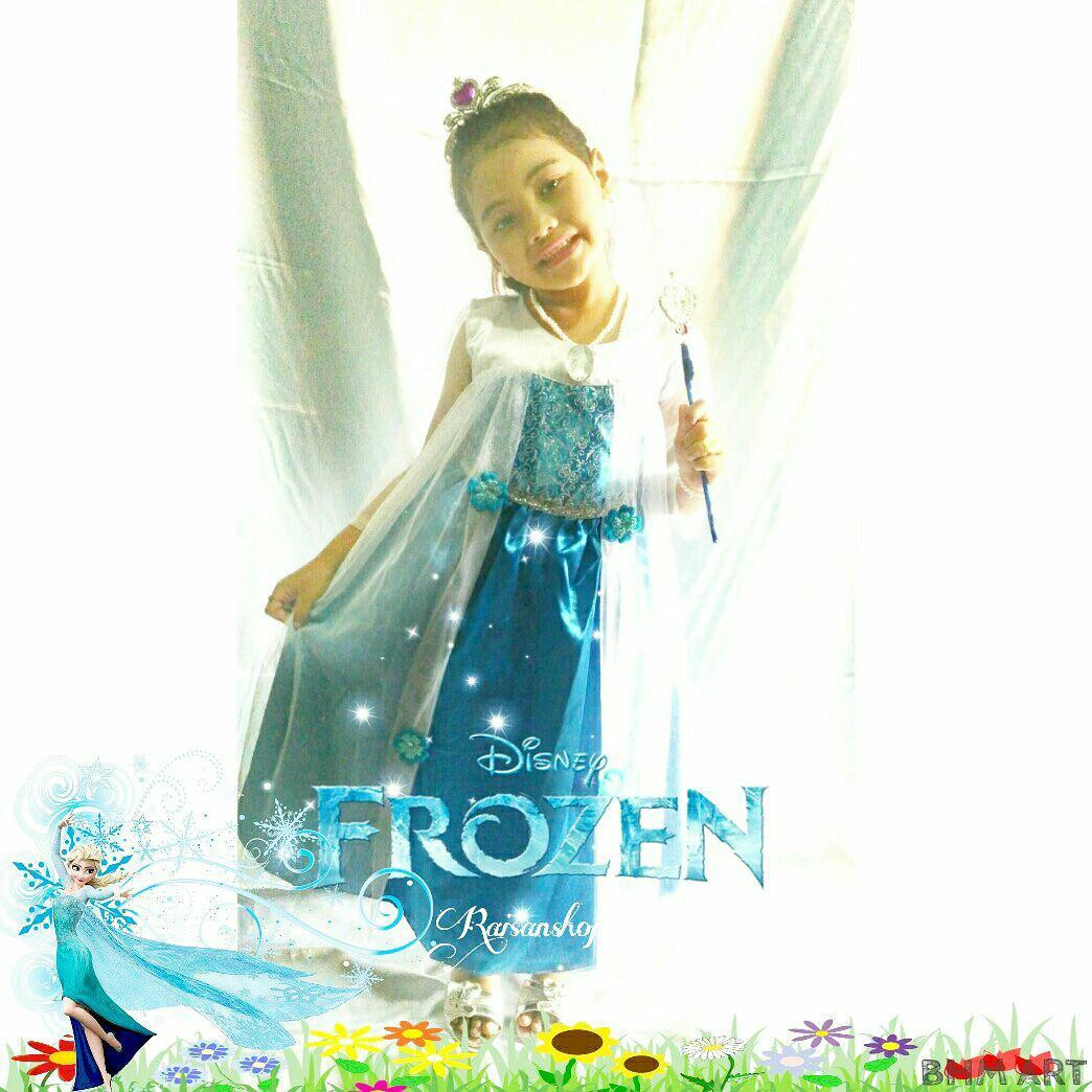 Baju Elsa Frozen Kostum Anak Pesta Murah