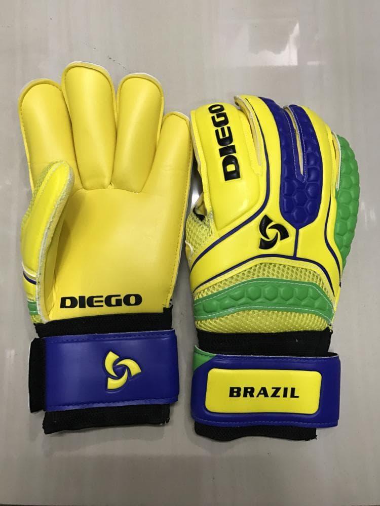 Sarung tangan kiper tulang Diego import Murah