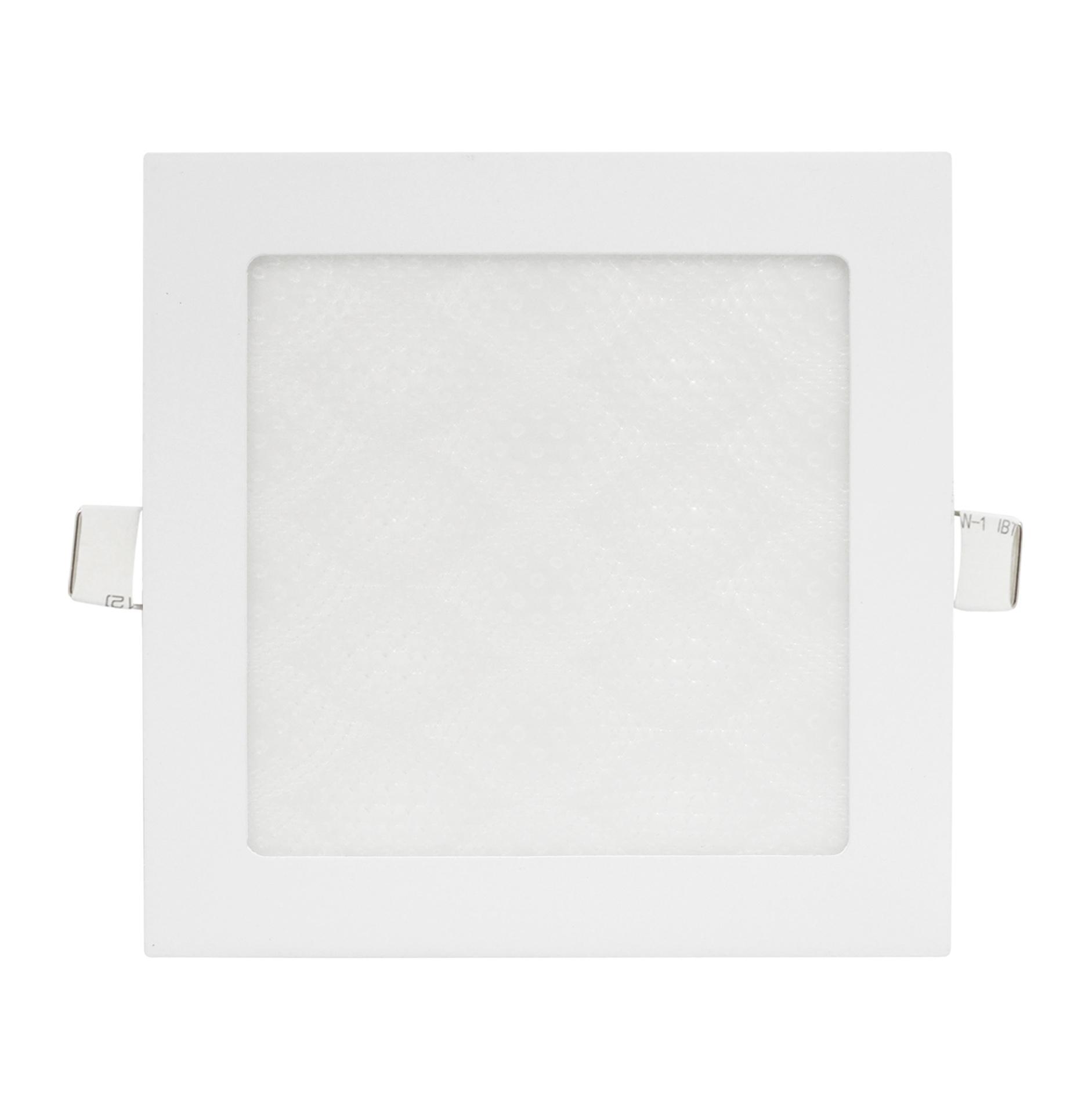 LED Lampu Panel 3D 12 Watt Square White Plafon Rumah Kantor Terang