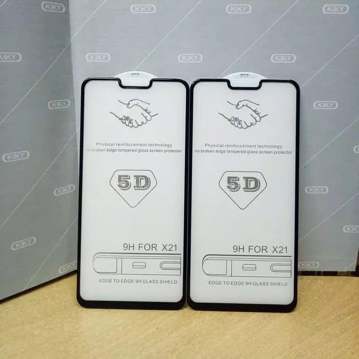 Tempered Glass 5D for Xiaomi Redmi 6A (FULL LEM & FULL SCREEN) – BLACK