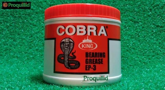 Harga Spesial!! King Bearing Grease Ep-3 Ep3 Extreme Pressure Hitemp Gemuk 500 G Cobra - ready stock