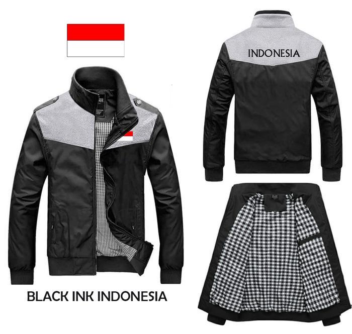 Harga Spesial JAKET PARASUT COWOK CEWEK INK GARUDA INDONESIA Ready Stock