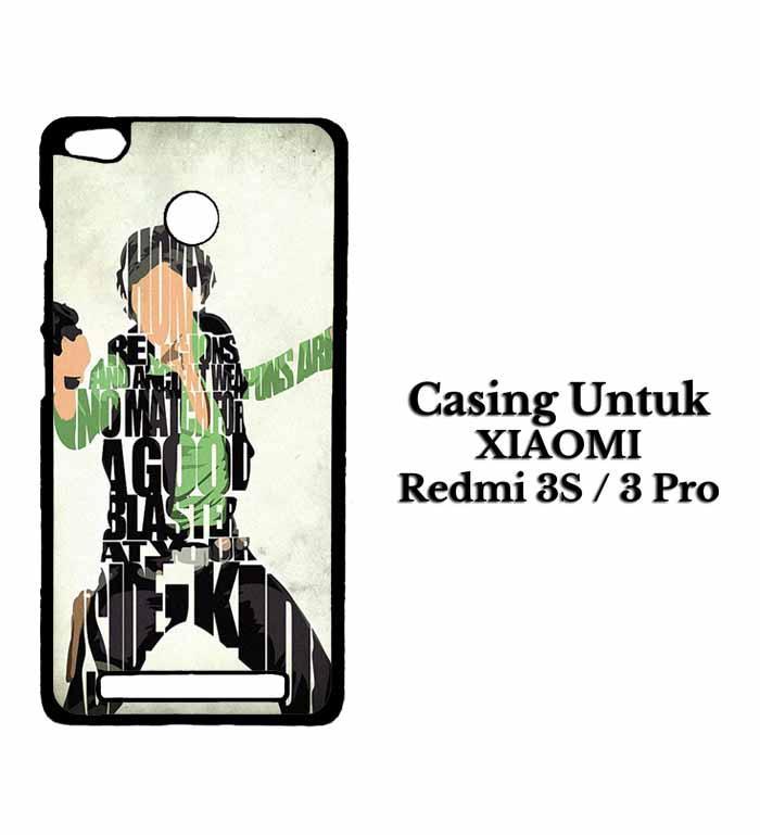 Casing XIAOMI REDMI 3 PRO Han Solo Typography Hardcase Custom Case Se7enstores