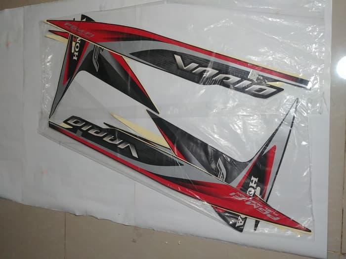 Stiker Bodi & Lis Body & Striping Vario Fi 110 2014 Hit
