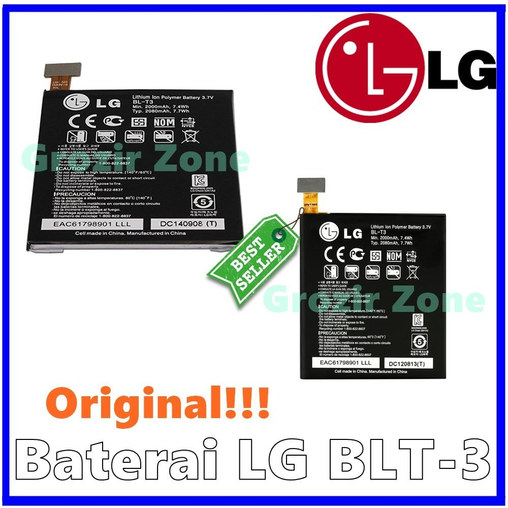 LG Baterai / Battery BL-T3 For LG Optimus Vu Original - Kapasitas 2000mAh ( Grozir Zone )