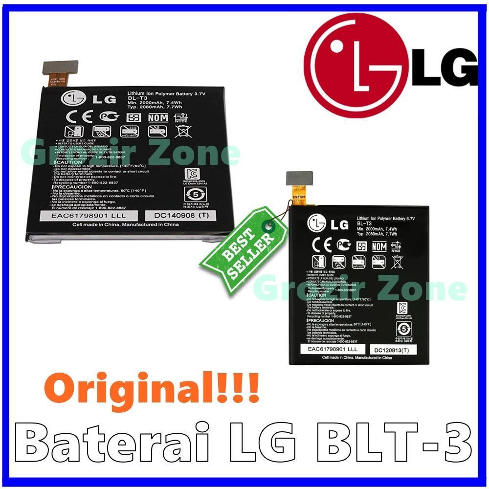 LG Baterai / Battery BL-T3 For LG Optimus Vu Original - Kapasitas 2000mAh ( Grozir Zone )