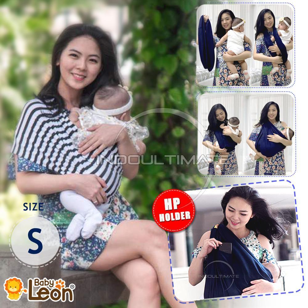 BABY LEON Gendongan Bayi Kaos/Geos/selendang Bayi Praktis BY 44 GB SALUR Ukuran