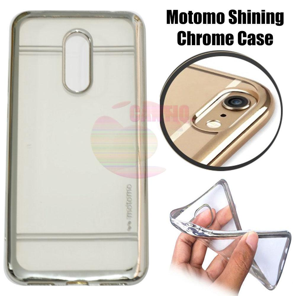 Motomo Chrome Xiaomi Redmi 5 Plus Shining Chrome / Silikon Xiaomi Redmi 5 Plus Shining List