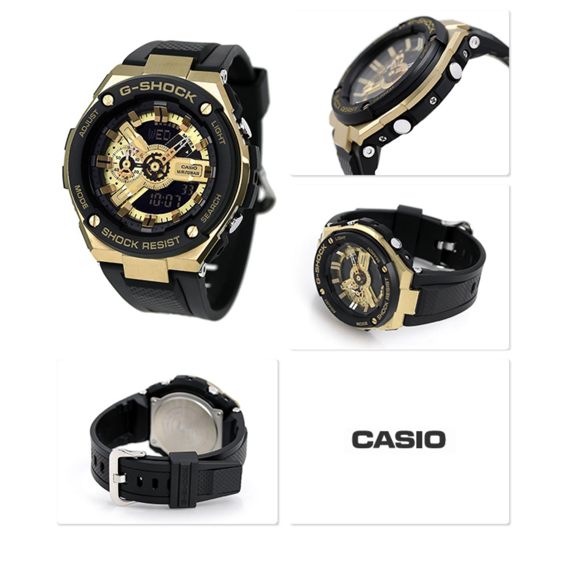Jam Tangan Casio G Shock Online Terbaru Gx 56bb 1 Pria Black Strap Resin Steel Gst 400g 1a9dr Gold