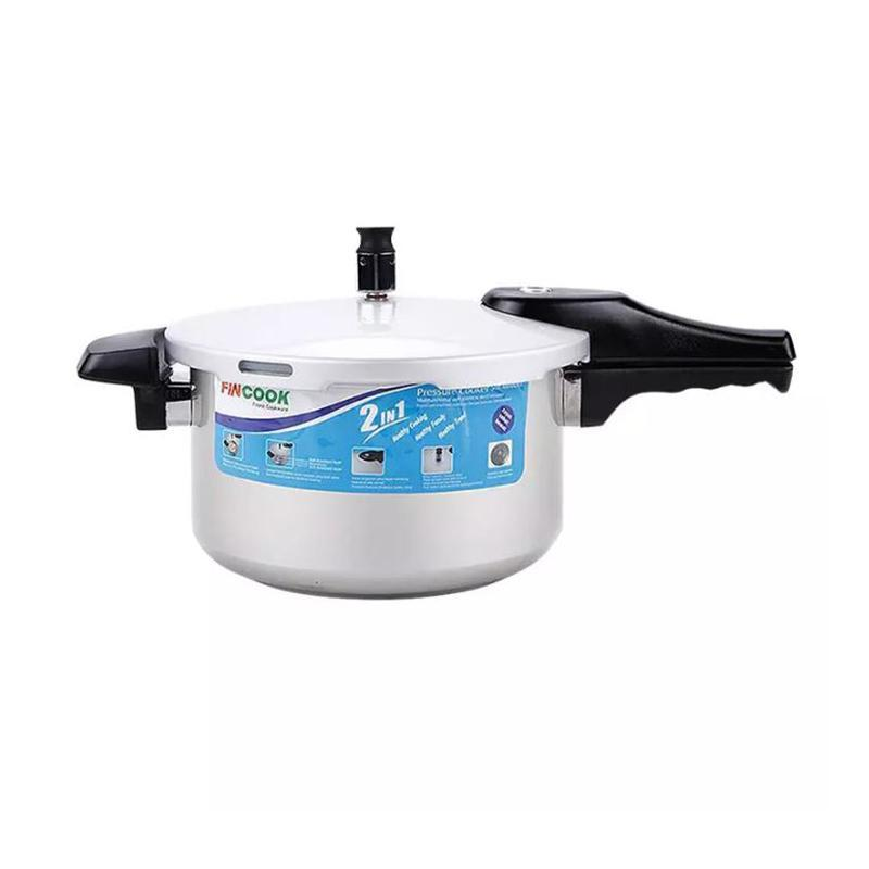 FINCOOK PC7005SAS – Soft Anodized Presto 7 Liter + Steam