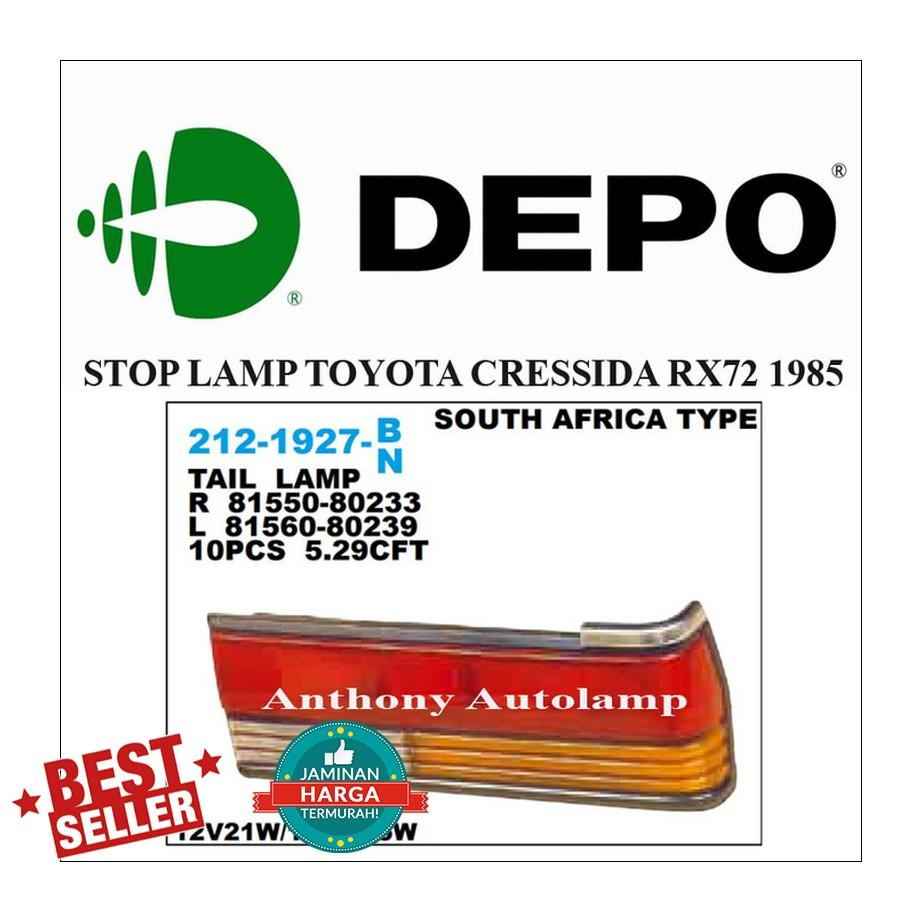 STOP LAMP TOYOTA CRESSIDA RX72 1985 RH