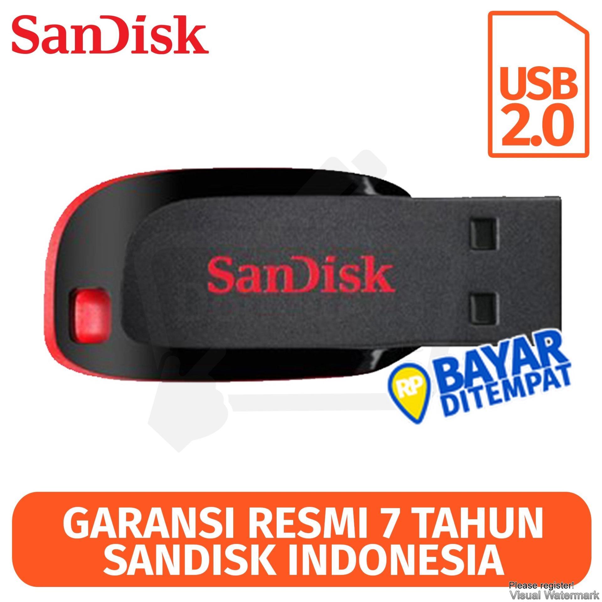 SanDisk Flashdisk Cruzer Blade CZ50 - 16GB