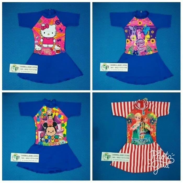 HARGA PROMO!!! Baju Renang Anak Tanggung Perempuan Motif Cantik / Baju Renang - AVl6ZJ