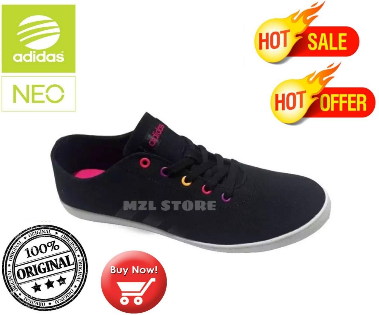 Sepatu Lifestyle Adidas Qt Vulc Womens Shoes